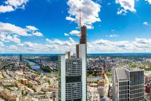 نتيجة بحث الصور عن البرج الرئيسى فى فرانكفورت